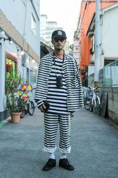 ストリートスナップ [Futaba Jr] | vintage, 古着 | 大阪 | Fashionsnap.com