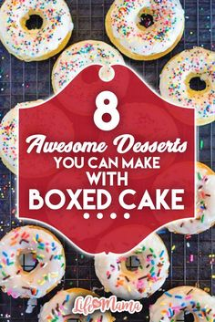 Boxed cake mixes aren't just for baking cakes! You can do so much more. Check out these delicious and surprising recipes.