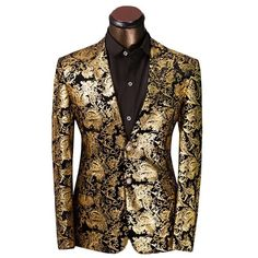 Cloudstyle Gold/Black Blazer
