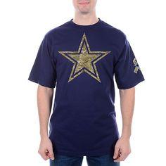 7c488dcf1 Dallas Cowboys Camo Logo Premier Tee Dallas Cowboys Pro Shop