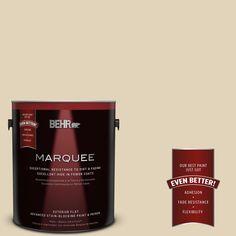 BEHR MARQUEE 1-gal. #760C-3 Wild Honey Flat Exterior Paint