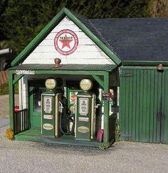 Diorama-Station 1/18 - Kaufen/Verkauf Diorama-Station modellauto - Online-modellautos.at