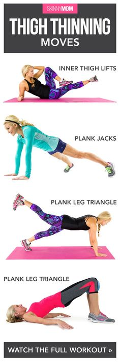 These moves will tone and tighten your thighs fast.