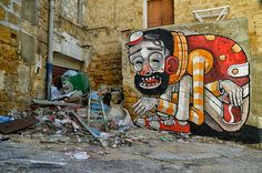 Street art and wall murals Mister Thoms - More of Mister Thoms? Check our website Streetart.nl