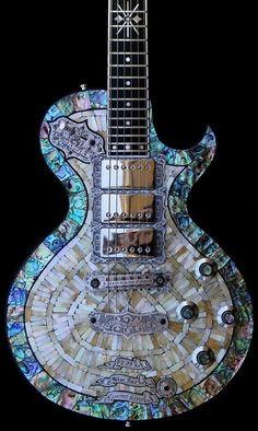 mosaic guitar by Eva