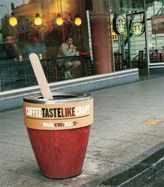 #Streetmarketing #Publicité #Advertising #iletaitunepub