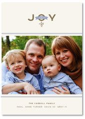 Pine Cone Joy Christmas Card | Southern Stationery