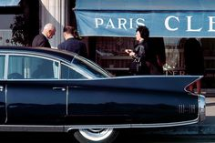 A 1960 Cadillac Fleetwood in Monte Carlo, taken by René Burri on a Leica Monte Carlo Monaco, Zurich, Color Photography, Street Photography, Photography Journal, Classic Photography, Auto Retro, Cadillac Fleetwood, Great Photographers