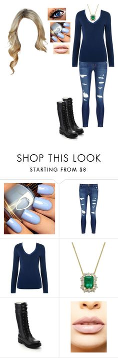 """""""Elizabeth Carter, """"Heritage Project"""" Look 2"""" by locksley-cxli ❤ liked on Polyvore featuring J Brand, Elle Macpherson Intimates, Jacobies and LASplash"""