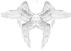 Wing inspiration Seraph Tattoo Design by 7GreenRobin7