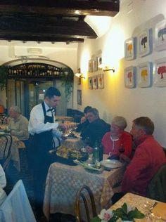 Matteo ... e la ... Bistecca fiorentina ... al Ristorante Piccolo arancio #Roma
