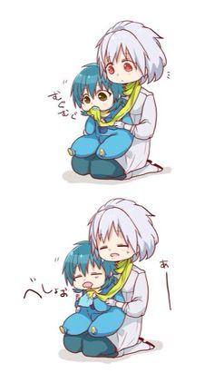 Dmmd - Clear and baby Aoba