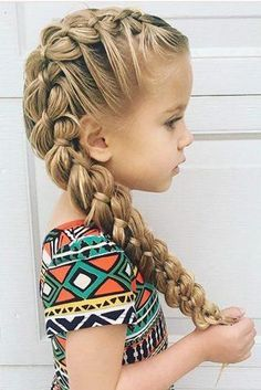 33 Cute Flower Girl Hairstyles Update Flower Girl Hairstyles For. - 33 Cute Flower Girl Hairstyles Update Flower Girl Hairstyles For Little Cutie ❤︎ Wedding planning ideas & inspiration. Wedding dresses, decor, and lots more. Side Braid Hairstyles, Cute Girls Hairstyles, Flower Girl Hairstyles, Little Girl Wedding Hairstyles, Hairstyle For Kids, Braided Hairstyles For Kids, Hairdos, Teenage Hairstyles, Beautiful Hairstyles