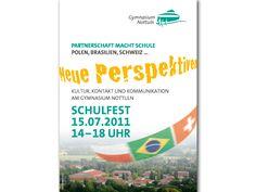 Plakat Schulfest Gymnasium Nottuln