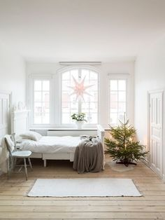 A Swedish country home at Christmas