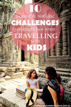 Family Holidays are awesome, but the honest truth is that travelling with kids can also be a touch challenging.  Visit wanderluststorytellers.com.au to read about 10 challenges you might face when travelling as a family.