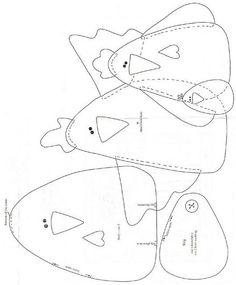 Risultati immagini per galinha pano de prato patchwork model Felt Patterns, Applique Patterns, Applique Designs, Sewing Patterns, Felt Crafts, Fabric Crafts, Sewing Crafts, Sewing Projects, Wool Applique