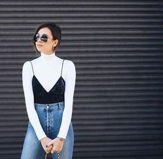 Source by turtleneck outfit casual Fashion 2020, Look Fashion, Fashion Outfits, Womens Fashion, Cute Casual Outfits, Casual Chic, Fall Outfits, Tank Top Outfits, Looks Pinterest