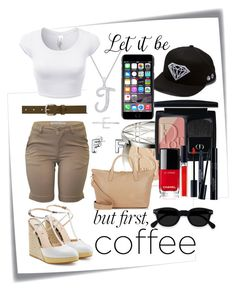 """""""But first coffee"""" by isaiahkiss ❤ liked on Polyvore featuring Post-It, Fendi, Isabel Marant, Bling Jewelry, Christian Dior, Plukka, Diamond Supply Co., Barneys New York, Dolce&Gabbana and Chanel"""