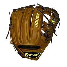 "Wilson A2000 Dustin Pedroia 11.5"" Baseball Glove - http://baseballgloves.nationalsales.com/wilson-a2000-dustin-pedroia-11-5-baseball-glove/"
