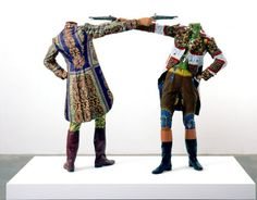 How to Blow by Yinka Shonibare