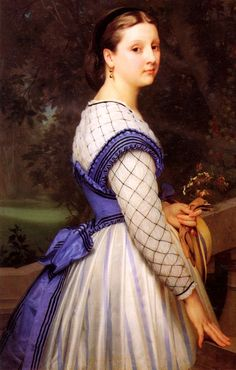Portrait of The Countess de Montholon ca. 1860 by William-Adolphe Bouguereau