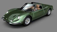 Ferrari Dino 246 GTS - GT - 1972 photo on Automoblog.net