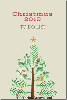 Make a Checklist for Next Christmas Now!