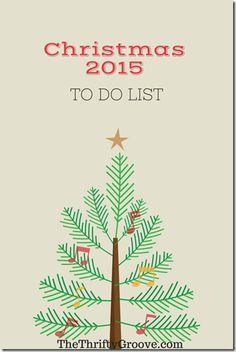 Make a Checklist for Next Christmas Now!
