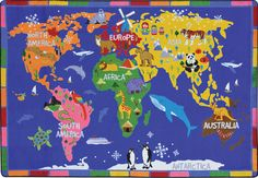 Students will love to learn geography on this plush carpet! Get the New World of Wonders Carpet in the Classroom Essentials Catalogue: OPUS 3189083 Page 53. See the full pages here: http://scholastic.ca/clubs/cec/