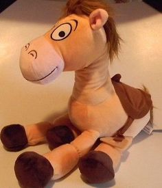 Bullseye Toy Story Woody's Horse Disney Disneyland LE plush animation character Woody And Buzz, Animation Character, Great Pictures, Toy Story, Tigger, Disneyland, Disney Characters, Fictional Characters, Great Gifts