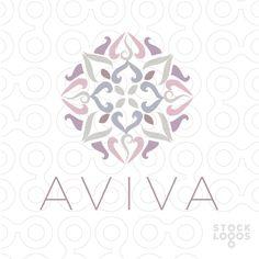 AVIVA Lotus Mandala by NancyCarterDesign