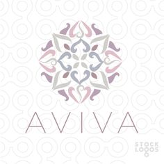 AVIVA Lotus Mandala by NancyCarterDesign