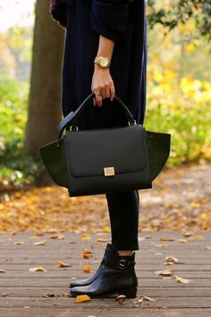Celine bag, Michael Kors watch