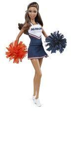 Auburn University Barbie Doll - Collectible University Barbie Dolls   Barbie Collector