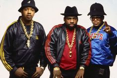 Hip hop style in the 80s combined athletic wear with prominent logos and gold chains