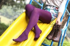 THE PLUM PROJECT OPAQUE STOCKINGS