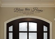 Bless This Home // ChristianStatements.com