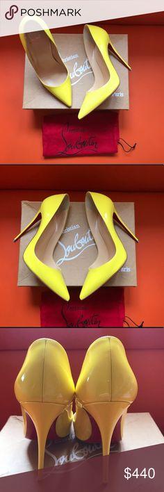 3199a7e0f Christian Louboutin So Kate Neon Pumps Shoes 38 A gorgeous pair of  Christian Louboutin So Kate