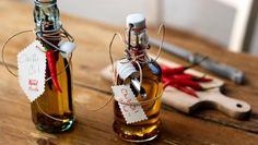 Chilli oil is perfect to give as a homemade edible present for use in salad dressings, stir-fries or on pizzas. Make in small amounts, though, as it doesn't keep for long!