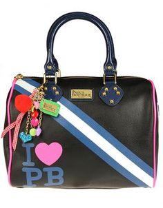 Paul's Boutique Molly Handbag Varsity Black