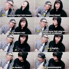 """Pardon?"" Really jungkook"