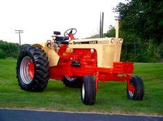 1966 J. Antique Tractors, Vintage Tractors, Old Tractors, Vintage Cars, Vintage Auto, Truck And Tractor Pull, Tractor Pulling, Case Tractors, Classic Tractor