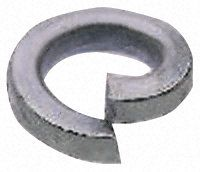 I could use a sprung washering to help force the wheel in place - 3.04 Buy ZnPt steel 1 coil spring washer,M12