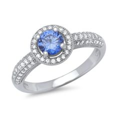 Bestellen Sie Ihren 925 Sterlingsilber Ring mit facettiertem Stein bei The Jeweller.