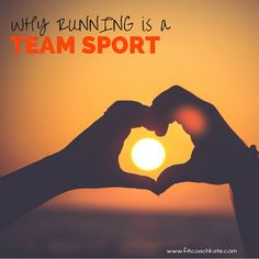 Why Running is a Team Sport