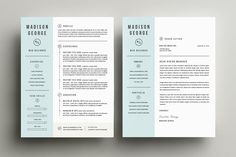 Resume & Cover Letter Template - Resumes - 2