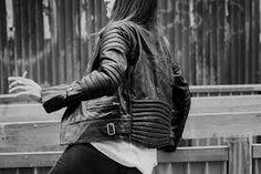 blk dnm - biker jacket