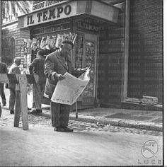 A Jurubeba Cultural: ● Imagens do Ler. (Roma, Itália. 1959. Foto Cinecitt'a Luce).