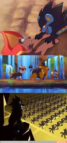 When Pokémon Meets The Lion King - Pokemon Naruto Pokemon, Pokemon Life, Pokemon Comics, Pokemon Funny, Pokemon Memes, Pokemon Go, Pikachu, Pokemon Stuff, Le Roi Lion